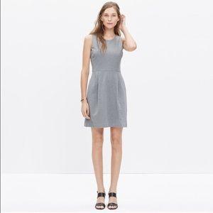 Madewell Verse Dress in Heather Grey